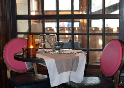 Table pour 2 personnes en salle